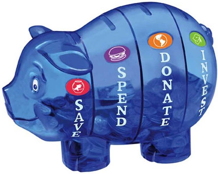 Money Savvy Pig -- Save, Spend, Donate, and Invest! Money management made easy!