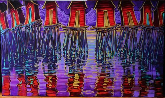 Adam Young is an artist living in Newfoundland