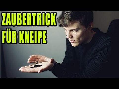 MEGA EINFACHER ZAUBERTRICK FÜR KINDER, KNEIPE UND DIE SCHULE mit Erklärung - YouTube