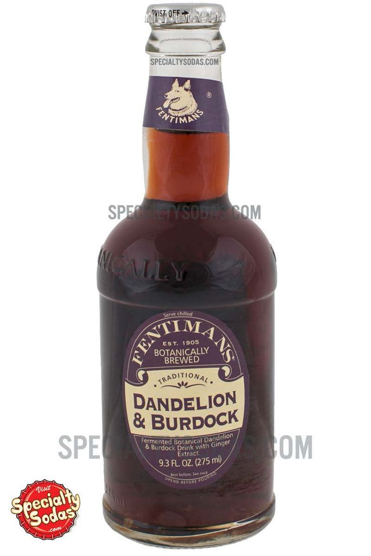 Fentimans Botanically Brewed Dandelion & Burdock 275ml Glass Bottle