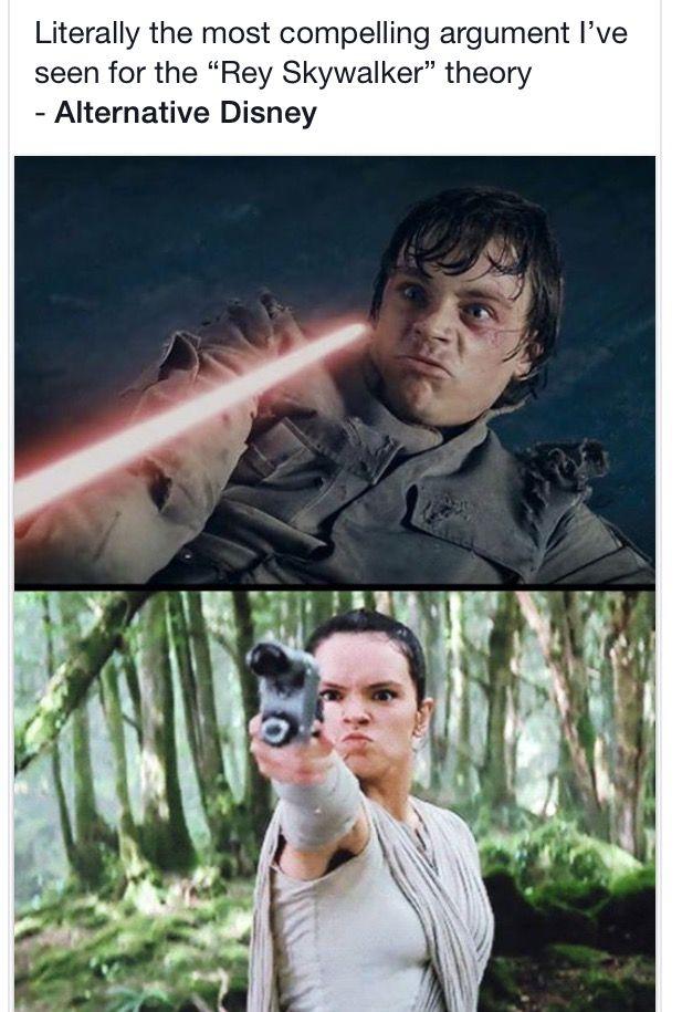 Rey is a Skywalker theory