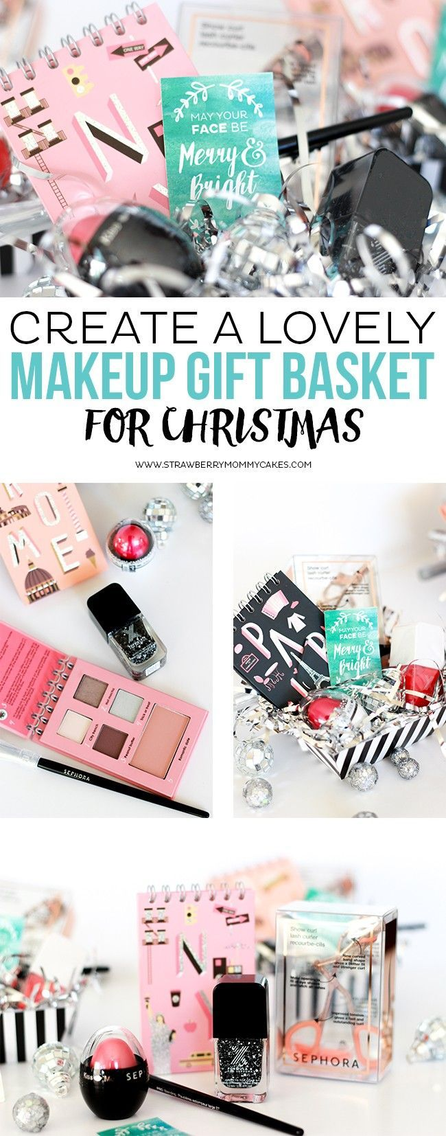 Create a LOVELY Makeup Gift Basket for Christmas {$100 GIVEAWAY CLOSED                                                                                                                                                                                 More