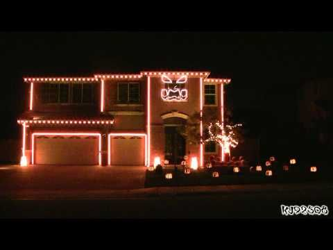 Watch a Halloween light show so beautiful, it would make Tim Burton cry. This is awesome and I would love to see what they do for Christmas!