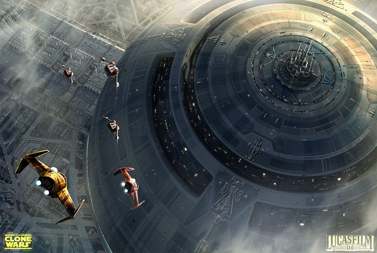 ArtStation - -Anaxes- Star Wars: The Clone Wars Concept , Pat Presley