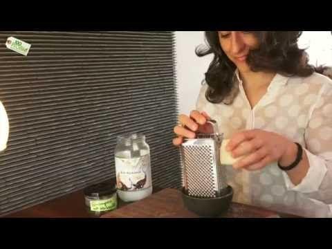 DIY Kokosöl Shampoo ohne Chemie und ohne Silikone