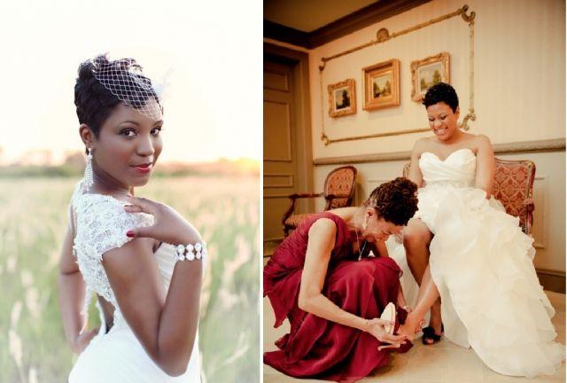 Bruidskapsels voor de bruid met een donkere huid | ThePerfectWedding.nl