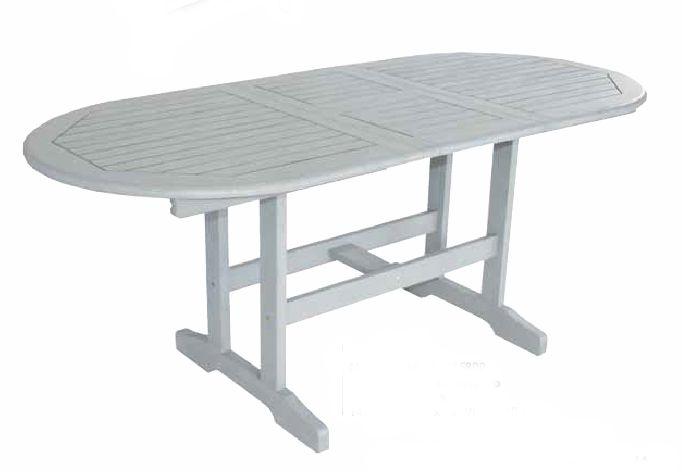 Τραπέζι οβάλ επεκτεινόμενο 1.40/1.80 X 80