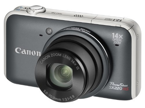 Canon PowerShot SX220 HS Digital Camera - Grey (12.1MP, 14x Optical Zoom)  3.0 inch LCD by Canon, http://www.amazon.co.uk/gp/product/B004M8S152/ref=cm_sw_r_pi_alp_-EJmrb0BW6FEG