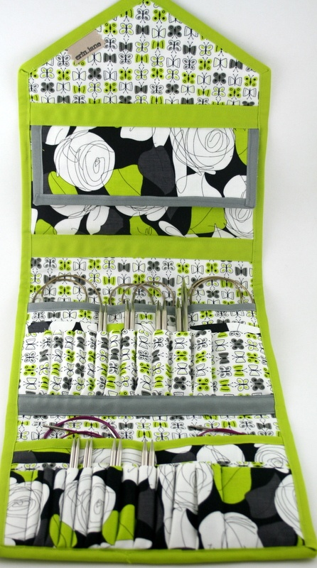 KnitPack Double Duty case for interchangeable needles and more
