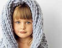 Капюшон для детей - схема вязания спицами. Вяжем Капюшоны на Verena.ru