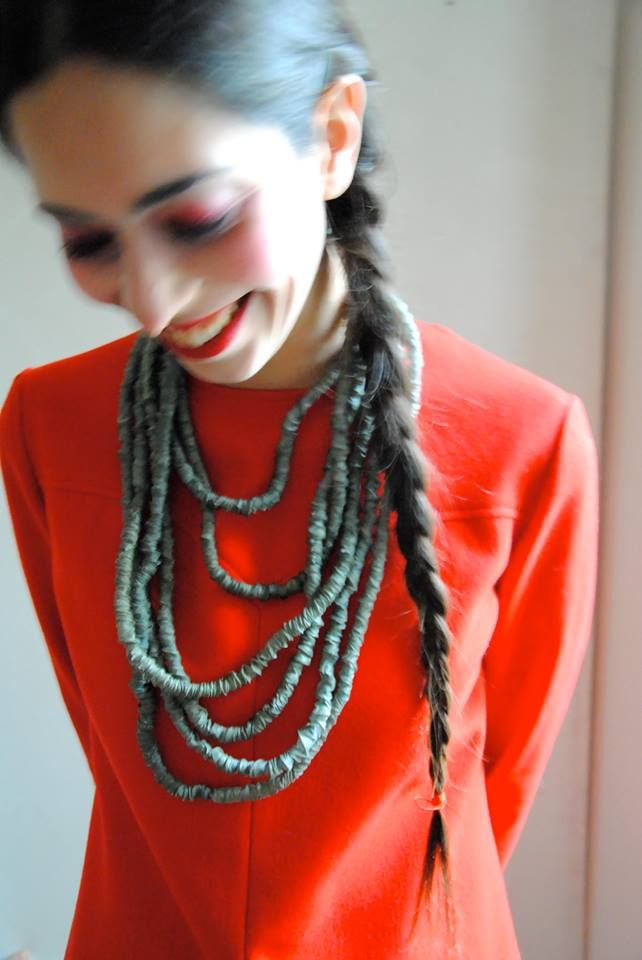 A twist of a Necklace - product by studiocinque e altro - photo by studiocinque e altro