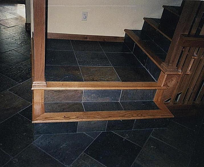 17 best images about stair tile on pinterest concrete - How to tile concrete stairs ...