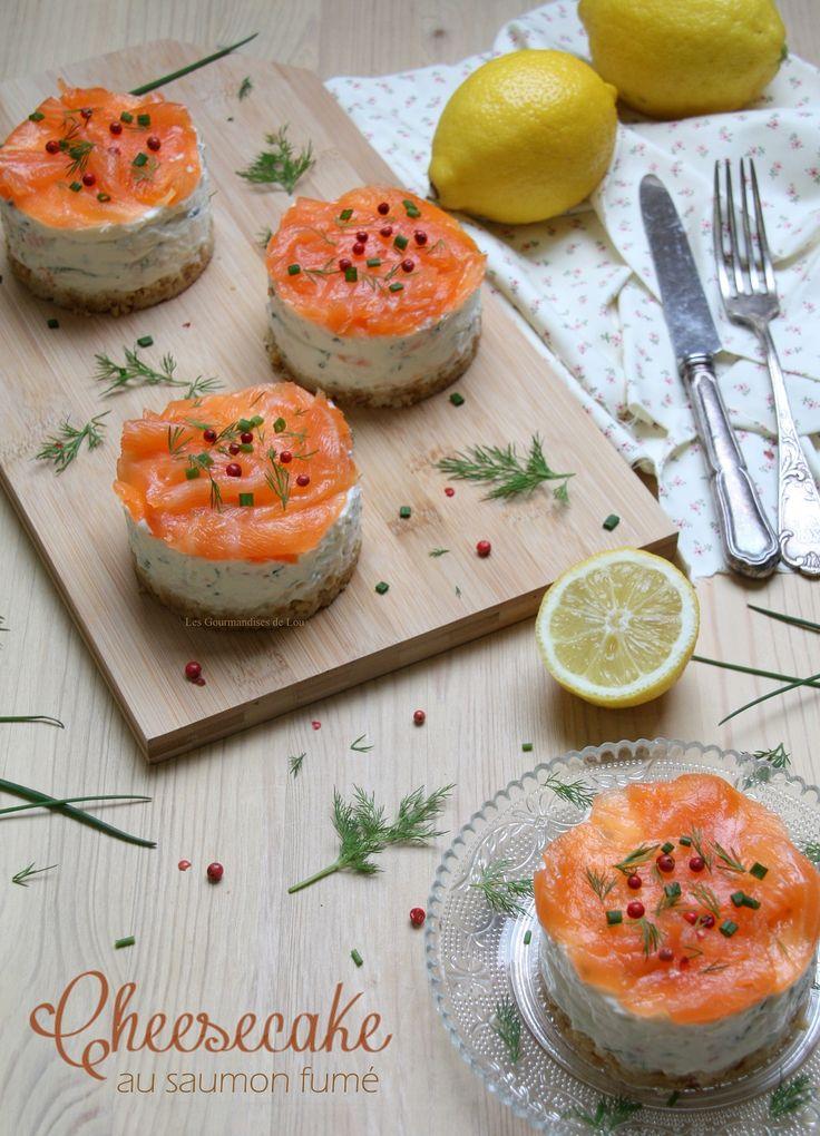 Cheesecake au saumon fumé : une recette simple, gourmande et qui fait toujours son petit effet.