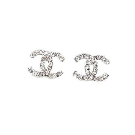 Open Heart Stud Earrings - 925 Sterling Silver Plated - Designer Inspired MHz1K6Elg