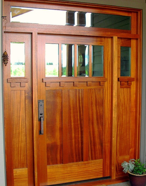 30 best images about front doors on pinterest craftsman for Mission style entry doors