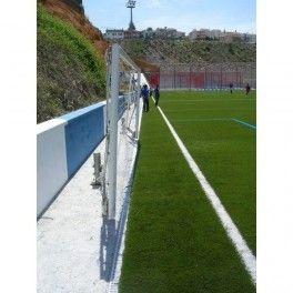 Porterías de fútbol abatibles o plegables fabricadas en España en aluminio. #fútbol #fabricantes #porterías #clubes #instalacionesdeportivas