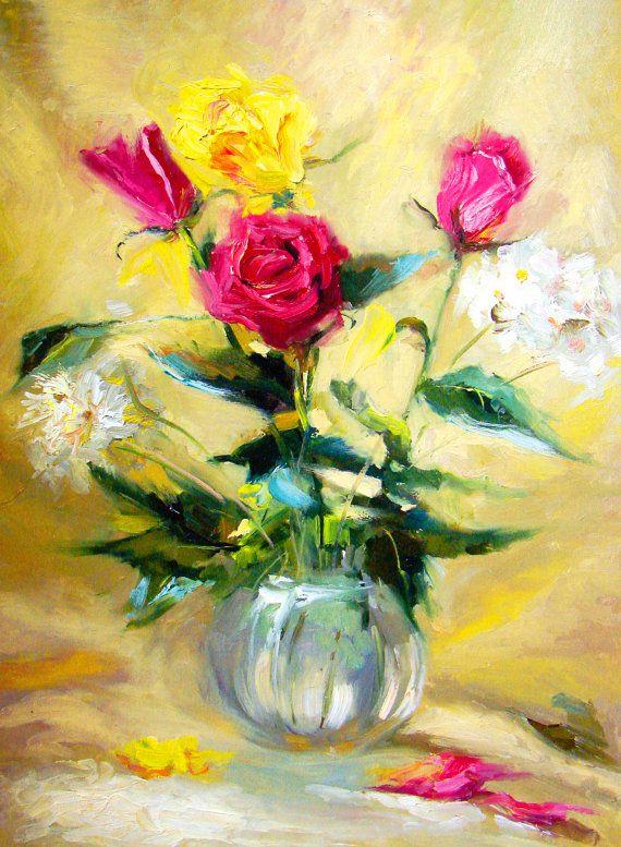 61 best tablo images on Pinterest | Art flowers, Art floral and ...