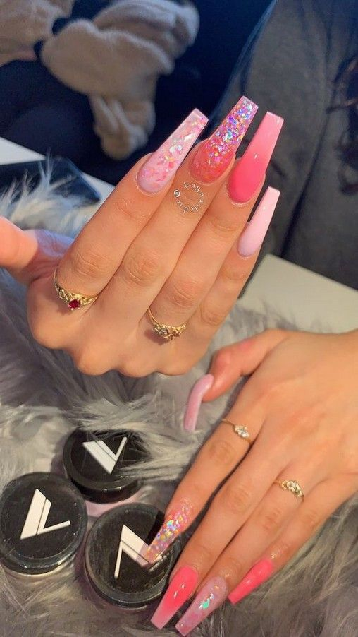 Ig Bold Beautycollective Pretty Acrylic Nails Cute Acrylic Nails Fire Nails