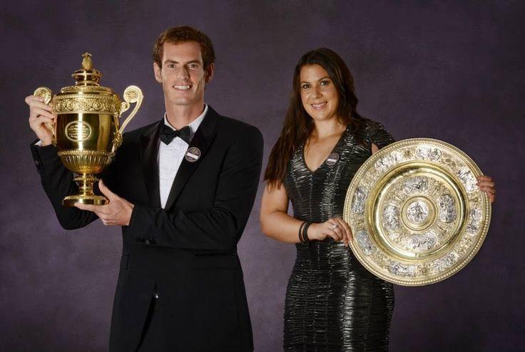 Andy Murray & Marion Bartoli.. 2013 Wimbleton Singles Champ!
