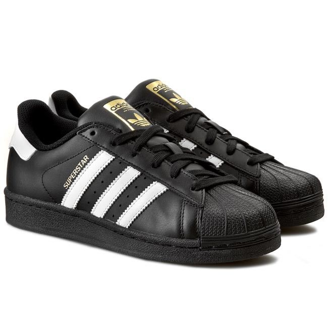 Schuhe adidas - Superstar Foundation J B23642 CBlack/FtWht