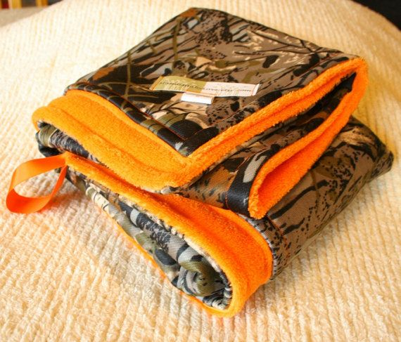 Hey, I found this really awesome Etsy listing at http://www.etsy.com/listing/114022005/realtree-camo-blanket-and-hunter-safety