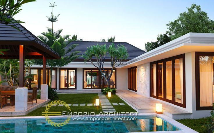 Desain Rumah Bali Modern | Jasa Arsitek Desain Rumah Villa Mewah