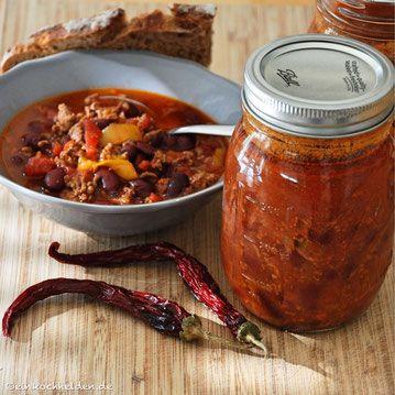 Chili con Carne einkochen