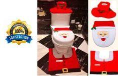 Scandinavian-Christmas-4-Santa-Happy-Santa-Toilet-Seat-Leadpo-Christmas-gift-kit