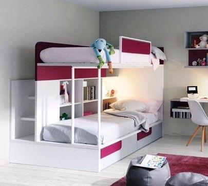 Camarotes infantil juvenil mr muebles modulares para for Muebles modulares para dormitorios juveniles