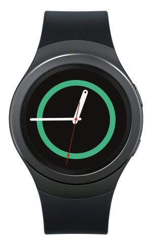 Samsung Gear S2 offers a 1.2 -inch (360 x 360) touchscreen AMOLED HD display. It comes with 512 MB of RAM and it has 4 GB of internal storage. 1.2GHz Quad