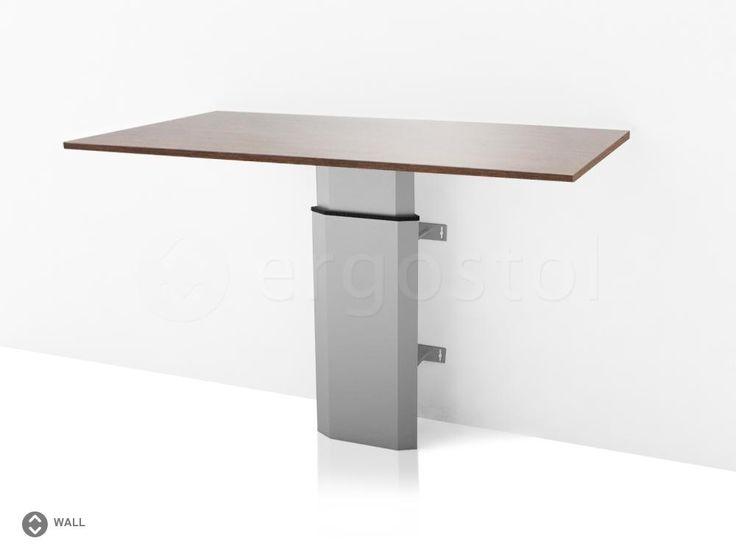Настенный стол ErgoStol Wall с подъемным механизмом для работы стоя