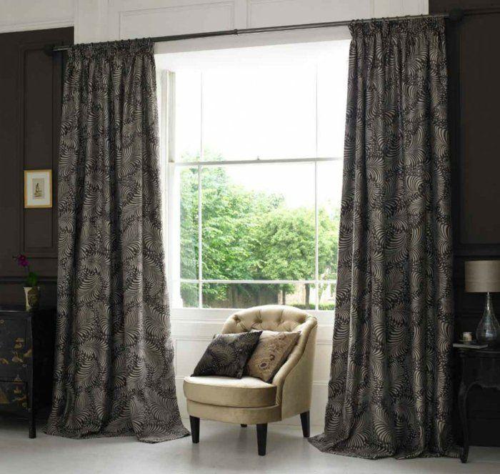 rideaux ocultants dans le salon rideaux design ikea rideaux design moderne