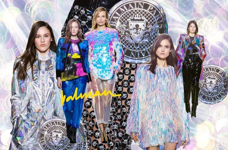 Balmain reúne los textiles favoritos de los millennials en un solo show