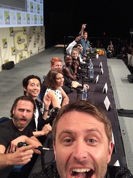 Ultimate selfie. The Walking Dead