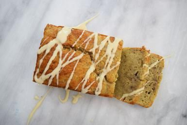 Nigella Lawson's Sticky Bourbon Banana Bread