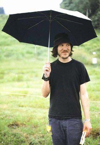 elliott smith with umbrella and pb&j