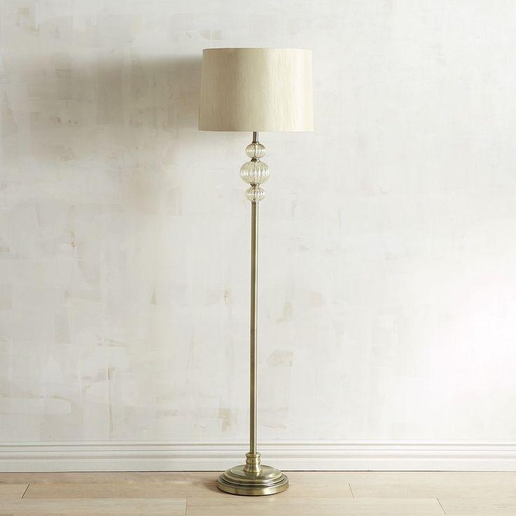 Trio Glass Floor Lamp | Pier 1 Imports