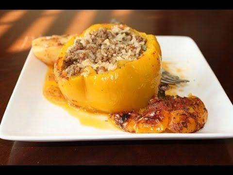 Gemista: Stuffed Tomatoes and Bell Peppers - YouTube