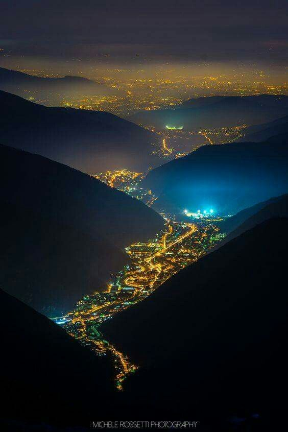 Valley of Lights , Val Trompia , Italy