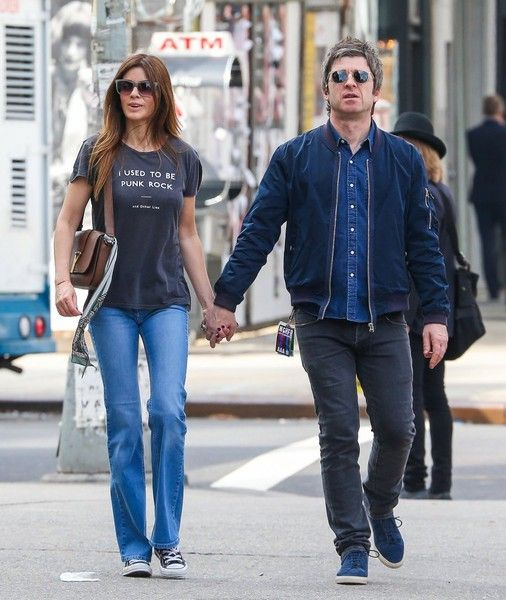 Noel Gallagher and Sara MacDonald Out For a Stroll in NYC