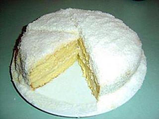 Le mont blanc (gateau antillais crème coco)