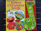 Elmos Christmas Songs by Sesame Street PLAY A SONG Hardcover Book