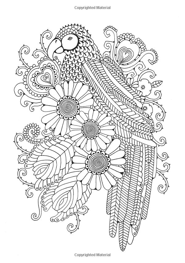 The Girls Glorious Colouring Book Delightfully Detailed Designs Amazoncouk
