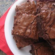 Quick and Easy Brownies @ allrecipes.co.uk Add after eight mints they are amazing!