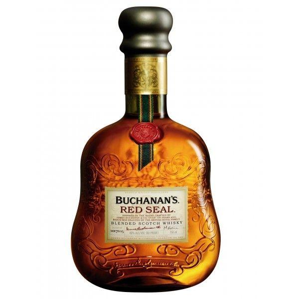 Buchanan's Red Seal; Dense, nutty, and rich | spiritedgifts.com