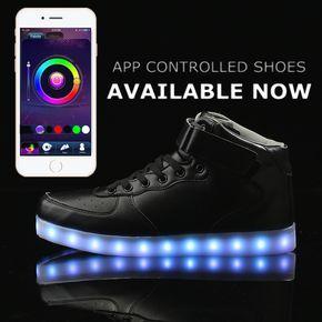 P002 Led Shoes APP Control LED Black