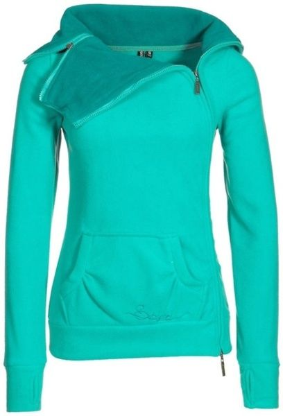 Active Wear Teal Hoodie Sweatshirt Just a slightly darker shade and this would be awesome for cold walks!
