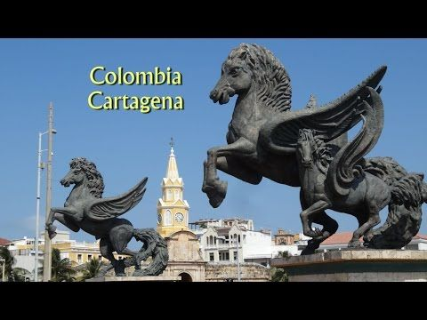 Colombia, Cartagena a great historic city, full of beauty and passion in HD - YouTube