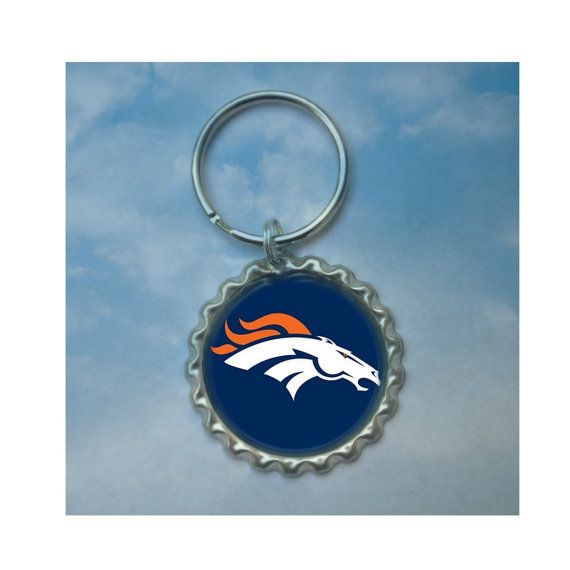 Check out this item in my Etsy shop https://www.etsy.com/ca/listing/260161218/denver-broncos-bottle-cap-keychain