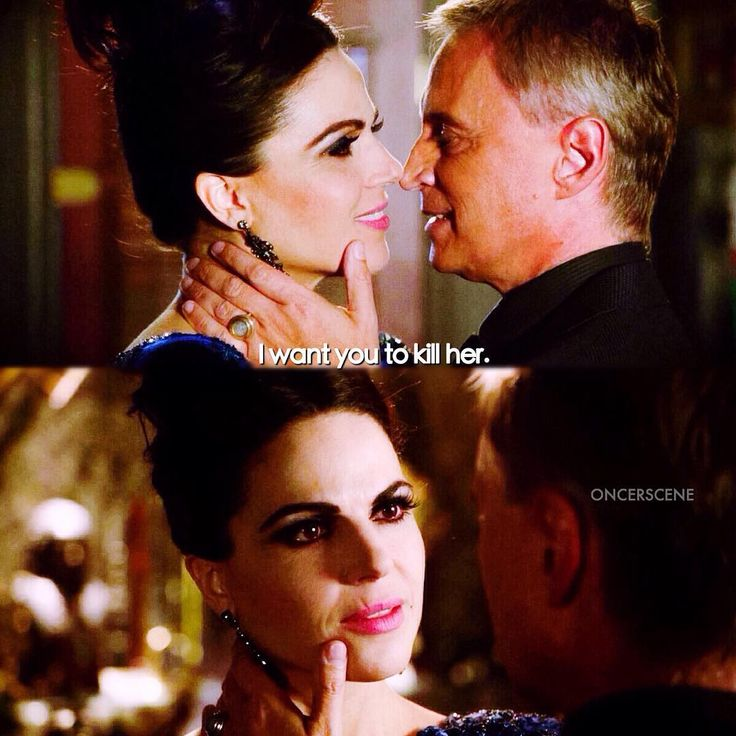 """Rumplestiltskin and Evil Queen - 6 * 8 """"I'll be your mirror"""""""